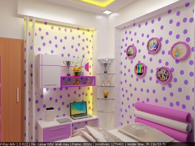 3 tips desain kamar tidur anak perempuan rumah minimalis