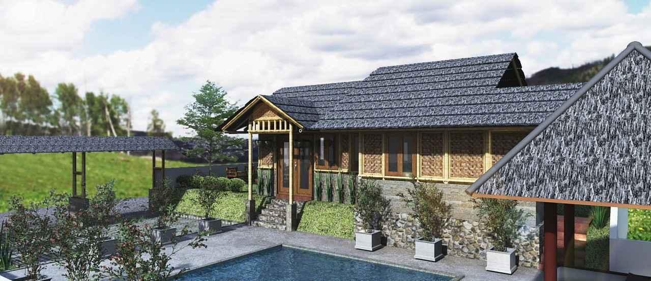 Gambar Desain Rumah Bambu Modern
