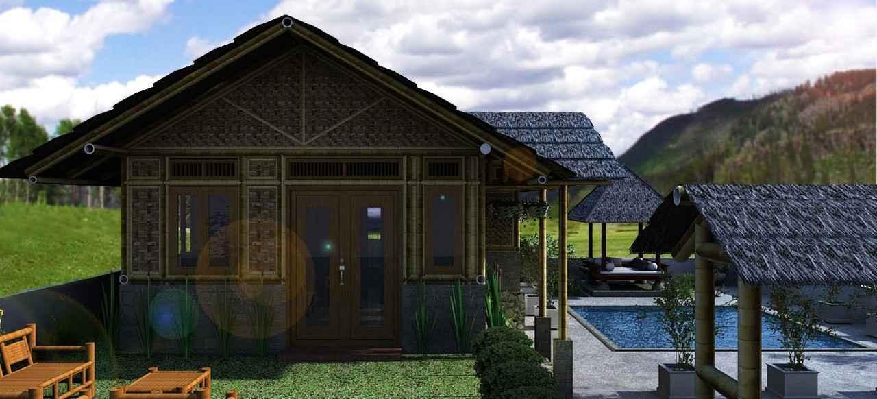 gambar-rumah-bambu. Desain Rumah & Gambar Desain Rumah Bambu Modern nan Unik | Rumah Minimalis 2015