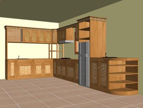 lemari-dapur-minimalis-sudut