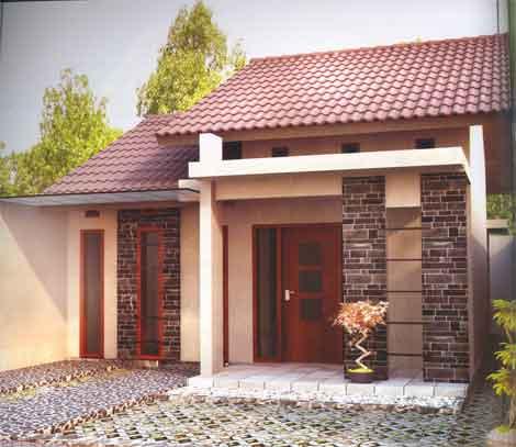 desain rumah minimalis type 60 1 dan 2 lantai rumahin