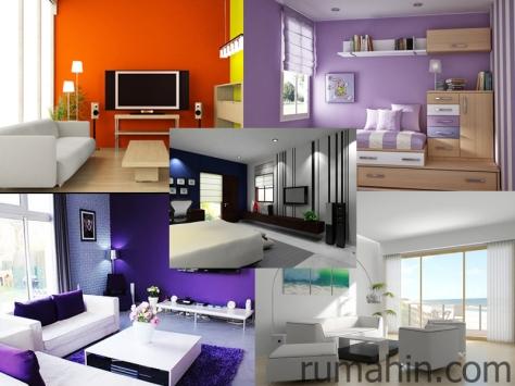 warna cat rumah dengan segala nilai seninya rumah