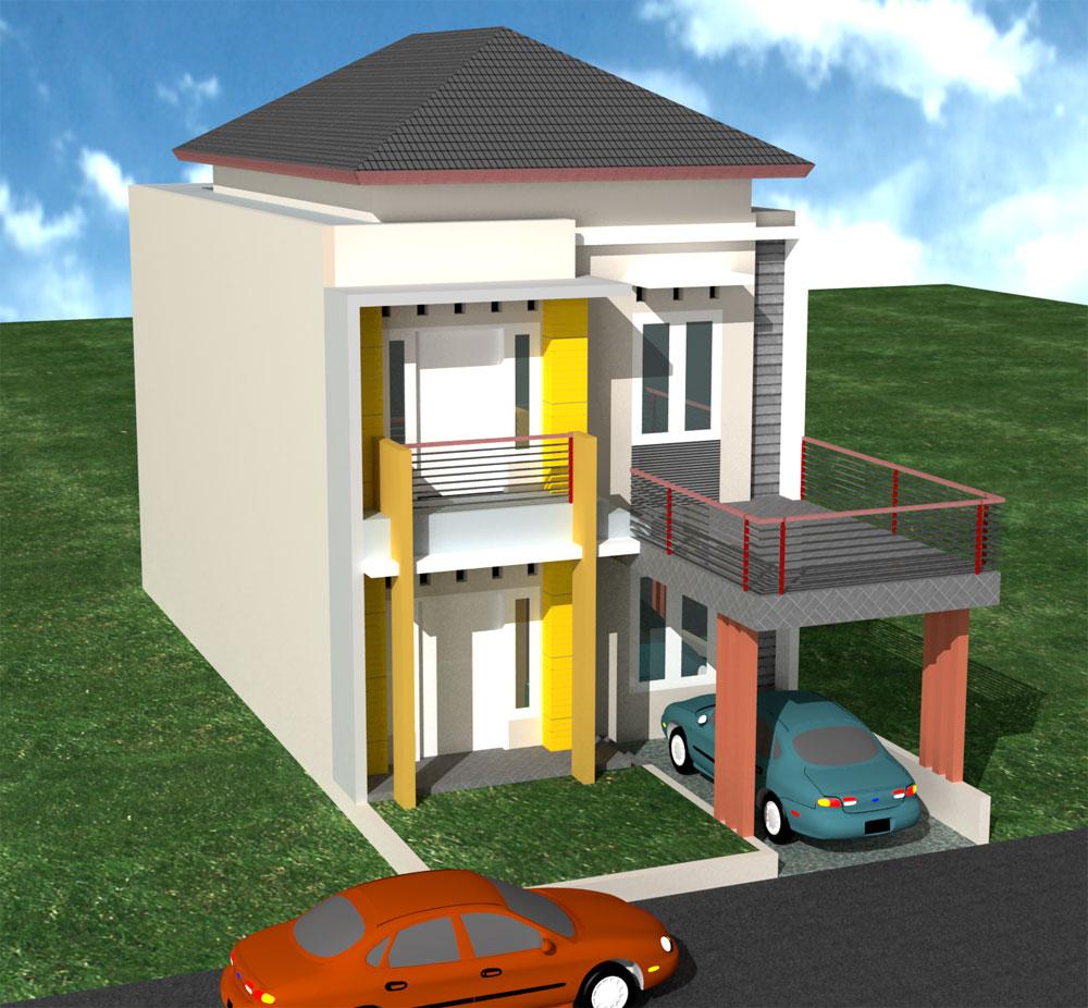 perbaiki dan renovasi rumah 1 lantai menjadi 2 lantai