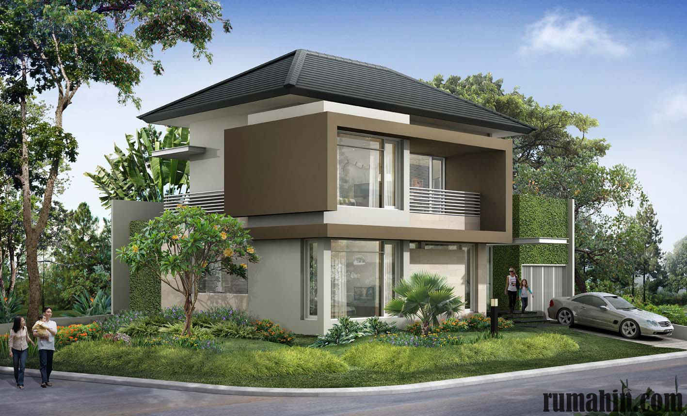 Rumah Kaca Minimalis Gaya Jepang Modern Rumahin