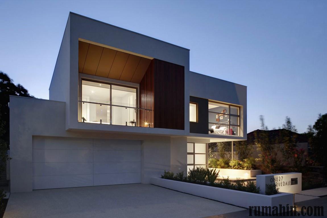 75 Desain Rumah Dengan Garasi Besar Sisi Rumah Minimalis