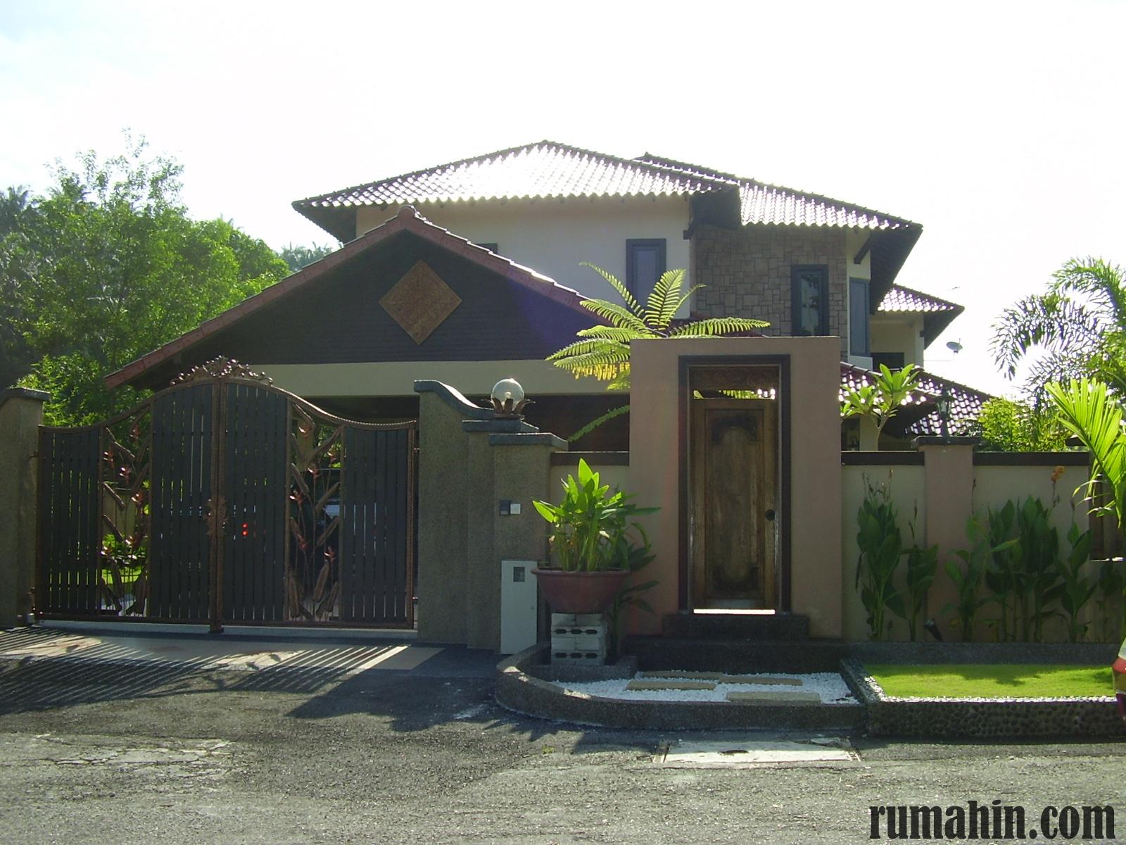 Pagar Rumah Minimalis Bali Rumah Joglo Limasan Work