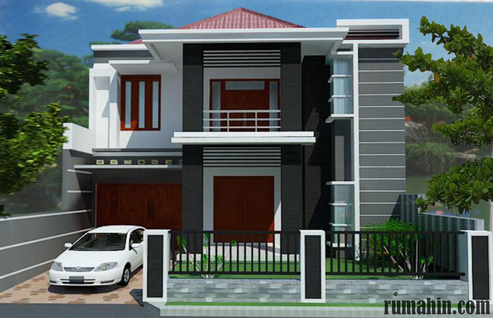 mempercantik eksterior rumah minimalis dengan batu alam