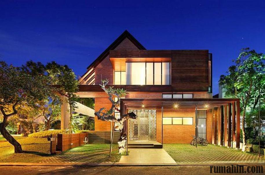 Desain Rumah Kayu Tradisional Dan Rumah Kayu Modern