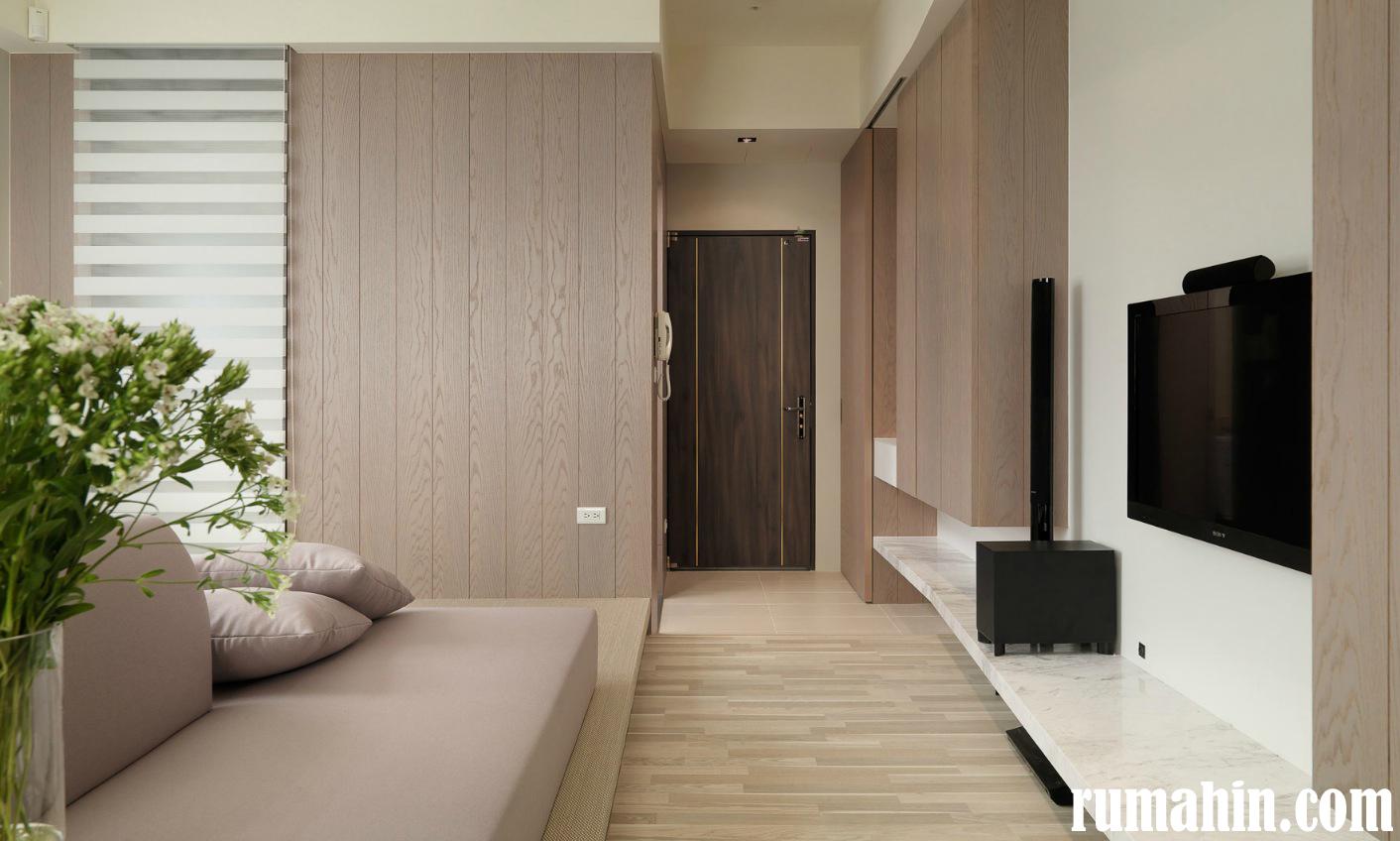 Dengan tata ruang apartemen mungil seperti yang telah dijelaskan di atas bukan tidak mungkin kesan interior apartemen yang lebih luas akan terasa walaupun ... & Konsep Interior Apartemen Mungil Tanpa Terlihat Kecil | Rumah ...