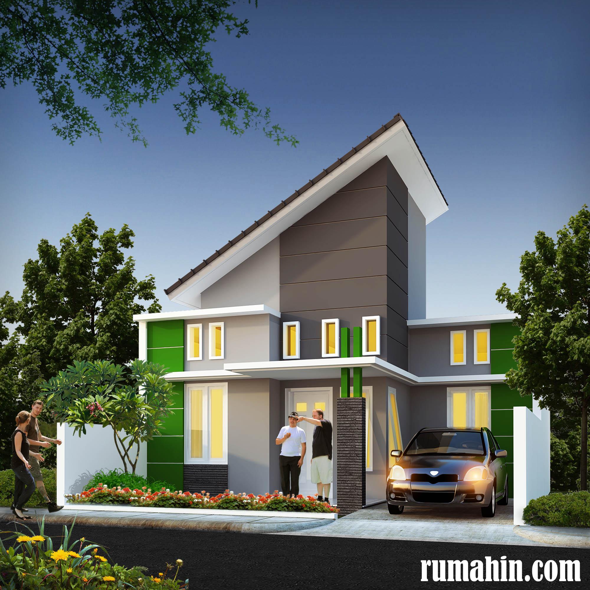 Kombinasi Warna Cat Untuk Rumah Bergaya Minimalis Rumah